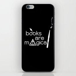 Books are Magical iPhone Skin
