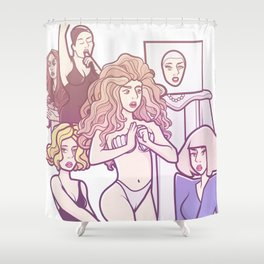 Applause VMA performance Shower Curtain