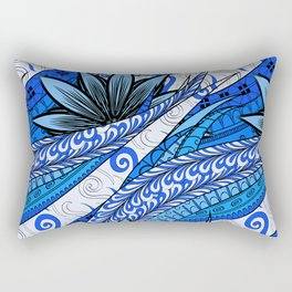 Boho Stylized Rope Pattern Rectangular Pillow