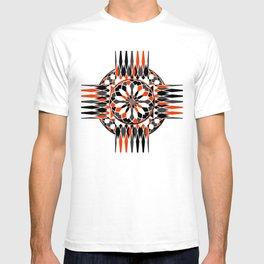 Geometric celtic cross T-shirt