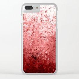 Abattoir Wall Clear iPhone Case