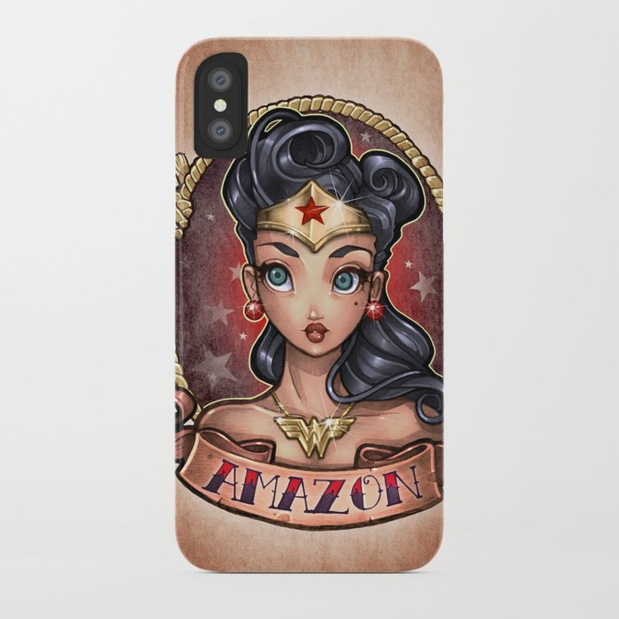 Amazon Pinup iPhone Case
