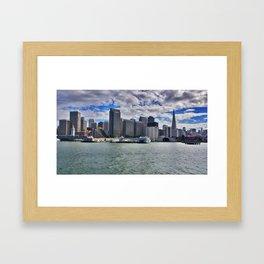 Jersey City Framed Art Print