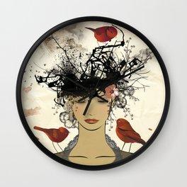 Le nid Wall Clock