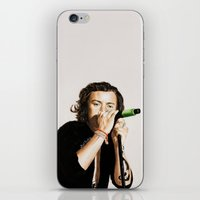 harry iPhone & iPod Skins featuring Harry by Stephanie Recking
