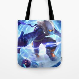 Snow Day Malzahar League Of Legends Tote Bag