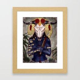 Rebirth Goddess Framed Art Print