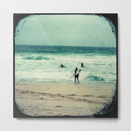 SURF #4 Metal Print