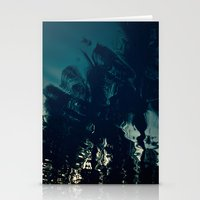 palms Stationery Cards featuring Palms by CloudedSunset