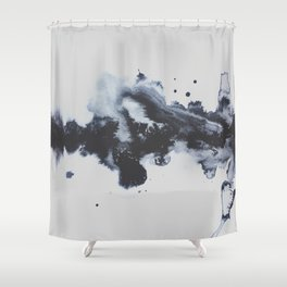 To Say Goodbye Shower Curtain