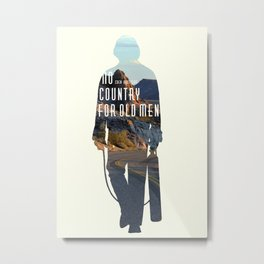 No Country for Old Men Metal Print