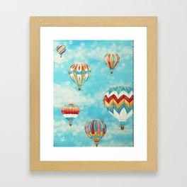 Hot Air Balloons 1 Framed Art Print