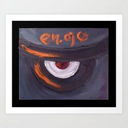 en.ojo Art Print