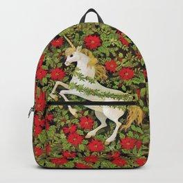 Christmas Unicorn Backpack