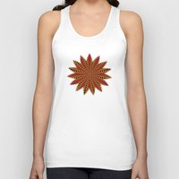 spanish Tank Tops featuring Spanish sun by Bubblemaker