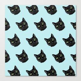 Black Cat Appreciation Day Canvas Print