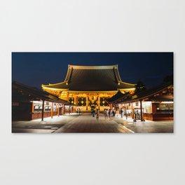 Sensoji (Asakusa Kannon Temple) 淺草寺 Canvas Print