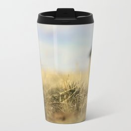 """Lo-Fi""  / Old Barn Buildings Travel Mug"