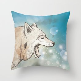 Scattered Throw Pillow