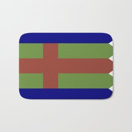 Jutland Flag Bath Mat