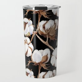 Cotton Flower Pattern 04 Travel Mug