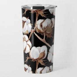 Cotton Flower Pattern 04 Travel Mug