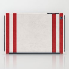 french linen - red iPad Case