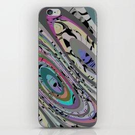 Rainbow Hyena iPhone Skin