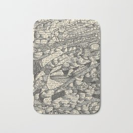 Rolling with the Wind Bath Mat