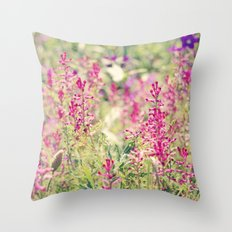 Lovely Summer Throw Pillow