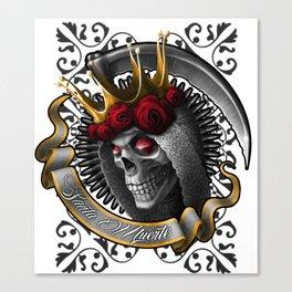 Santa Muerte 4 Canvas Print