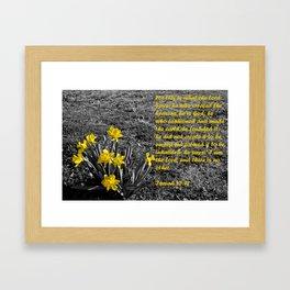 Isaiah 45 Framed Art Print