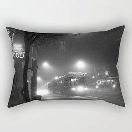 A Streetcar Named Noir Rectangular Pillow