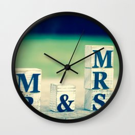 Mr & Mrs Wall Clock