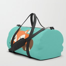 Sleeping Fox Duffle Bag