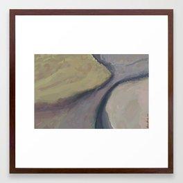 Grey Journey Framed Art Print