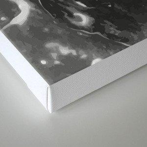 Melt - Asphalt Canvas Print