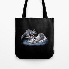 Cedric and Pitchfork Tote Bag
