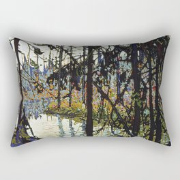 Tom Thomson - Northern River Rectangular Pillow