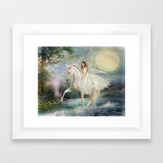 Unicorn Magic Framed Art Print