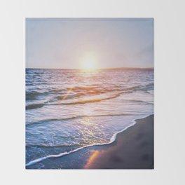 BEACH DAYS IX Throw Blanket