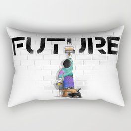 No Future Rectangular Pillow