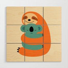 Stick Together Wood Wall Art