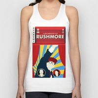 rushmore Tank Tops featuring Rushmore by Bill Pyle