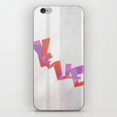 Yelle iPhone & iPod Skin