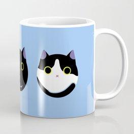 Cat Dango Blue:Yema,Duke and Maki Coffee Mug