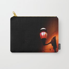 Red Streetlight Carry-All Pouch