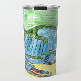 Blue Crusher Travel Mug