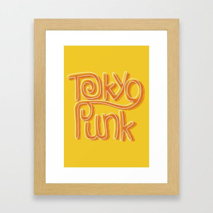 Tokyo Punk Framed Art Print