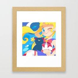 Sailor Moon by Bunny Framed Art Print